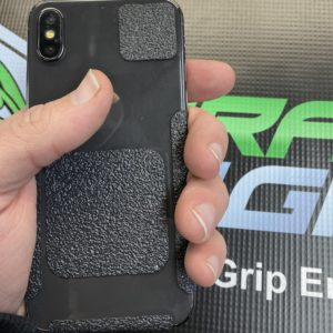 Iphone x perfect grip with Dragon Grips 13pc kit